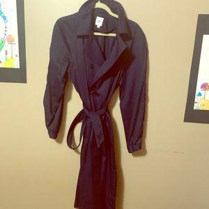 GAP Navy trench coat